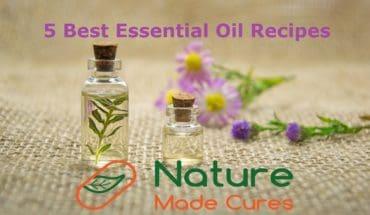 5 best essential oil recipes