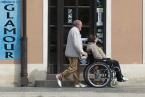 wheelchair loss of mobility