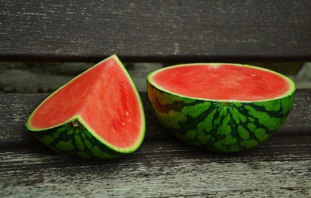 sliced up watermelons