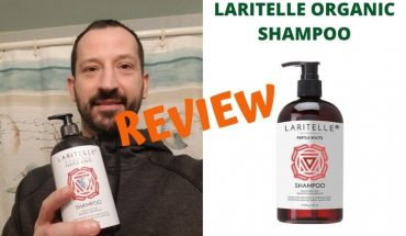 laritelle organic shampoo review cover photo