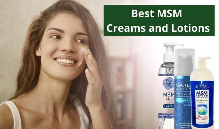Best MSM Creams Cover Photo