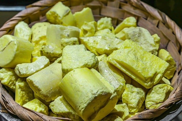 sulfur as a mineral