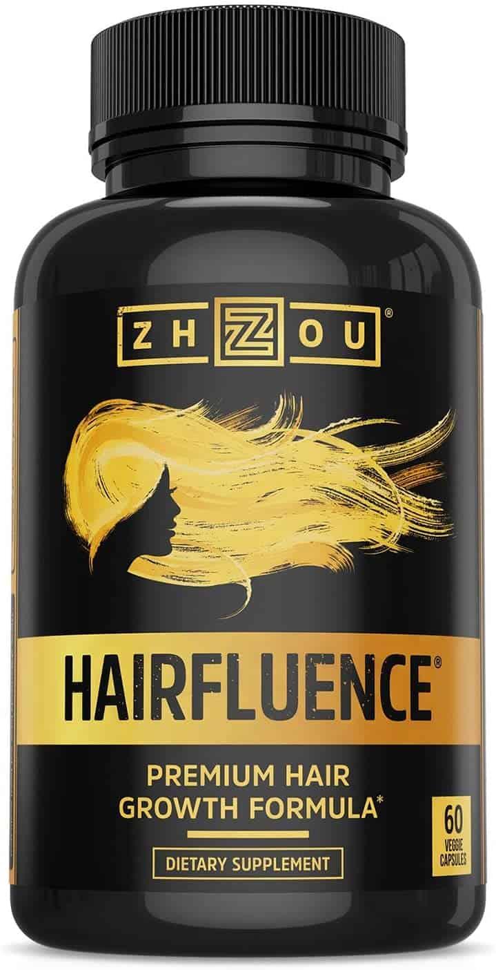 hairfluence bottle